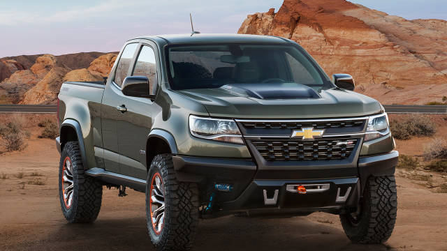 The Epitome of Off Road Trucks Could be Chevy