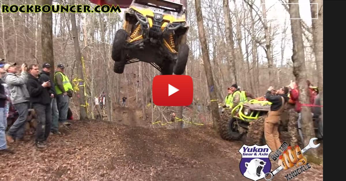 Insane Air in an ATV