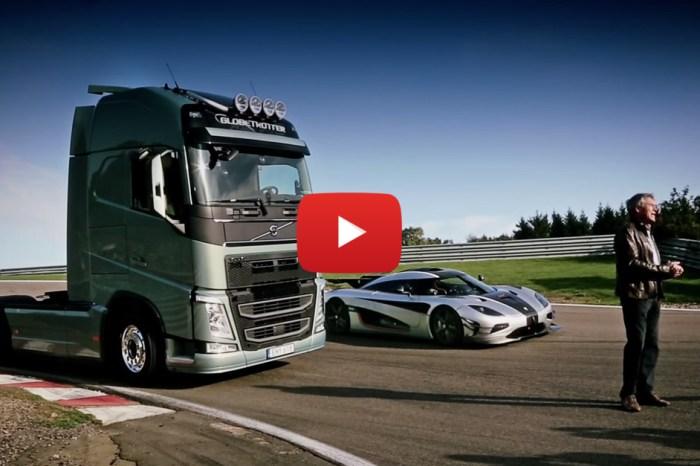 Volvo FH Truck vs. Koenigsegg One:1