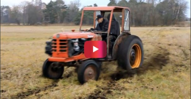 Volvo Terror Tractor Is an Off-roading Machine