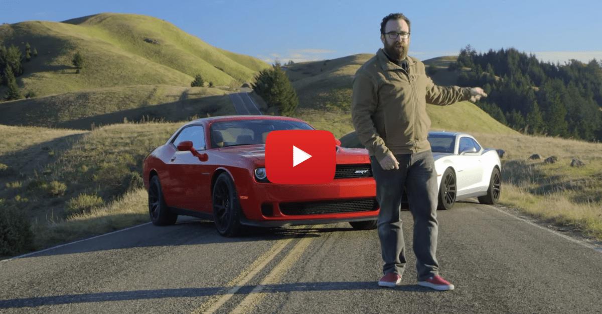 2015 Dodge Challenger SRT Hellcat vs. 2015 Chevrolet Camaro ZL1