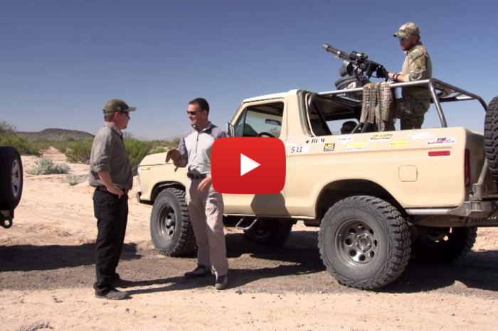 Dirt Every Day: Mini Gun on a '79 Ford Bronco
