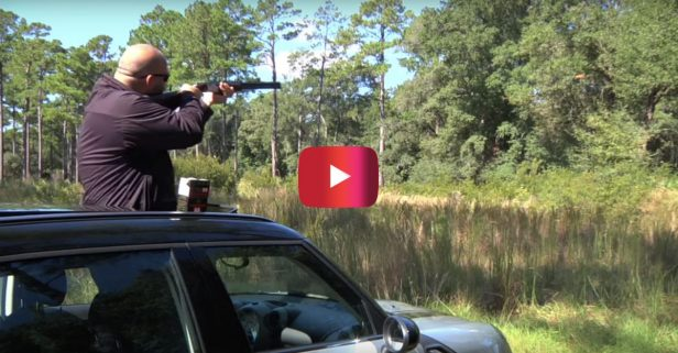 Shooting Guns from a Mini Cooper Is the Ultimate Off-Roading Activity