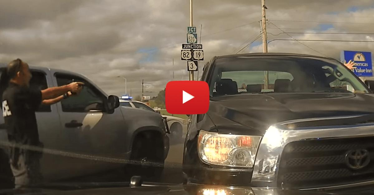 Police Pit Maniac Truck Tearing Through Rural Georgia