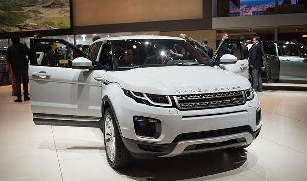 2016 Range Rover Evoque: Geneva Auto Show