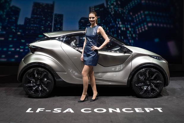 Lexus LF-SA Concept: Geneva Auto Show