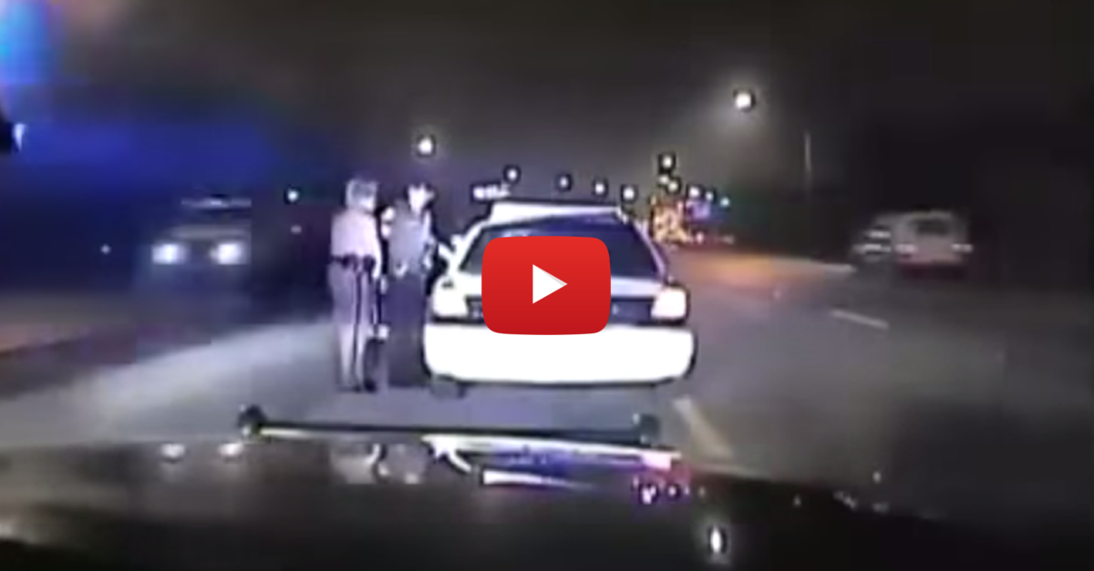 Highway Trooper Pulls Over & Cuffs Miami Cop