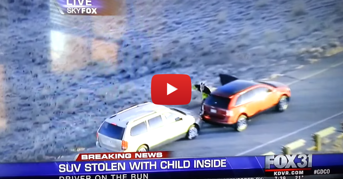 Man Steals Multiple Cars on the Run from Police Like He's in Grand Theft Auto