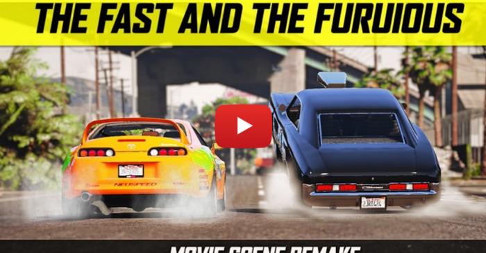 GTA 5 Fast & Furious Drag Scene