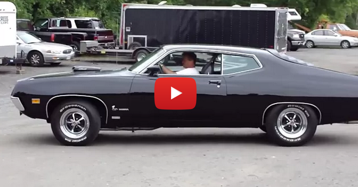 1970 Ford Torino Cobra on Display with 650 HP!