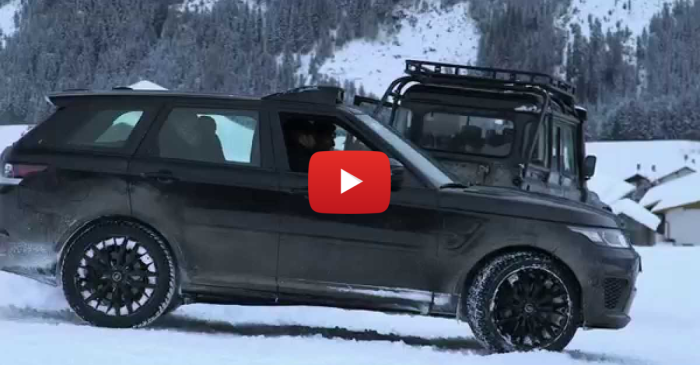 See It Here First — Land Rover Stunts by James Bond