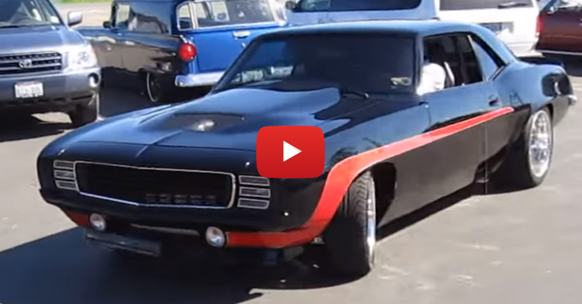 This Sick 69 Camaro Has Wicked Exhaust