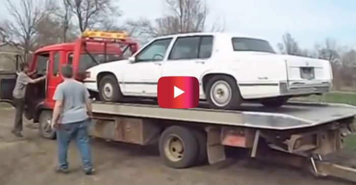 Here's How to Unload Your Caddy, Redneck Style