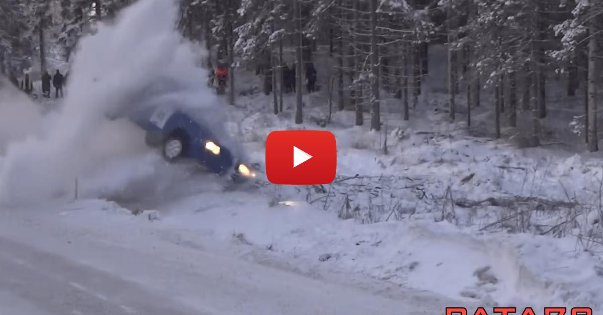 Brutal Rally Crashes at Jari-Pekka, Finland