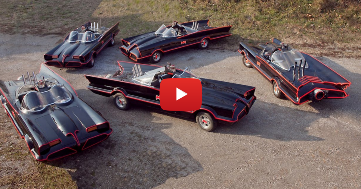 The Man Who Makes Classic Batmobiles For a Living