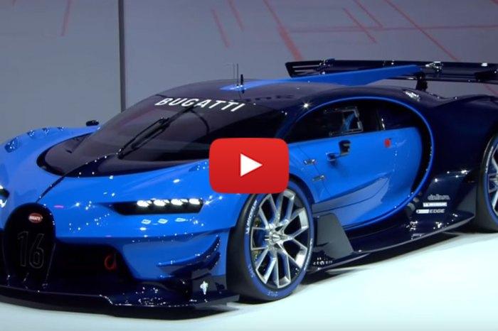 Bugatti's Video Game Concept Car Has Become Reality