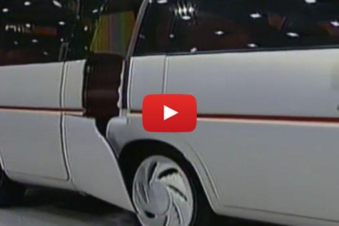 1990 Chicago Auto Show Minivan Concept