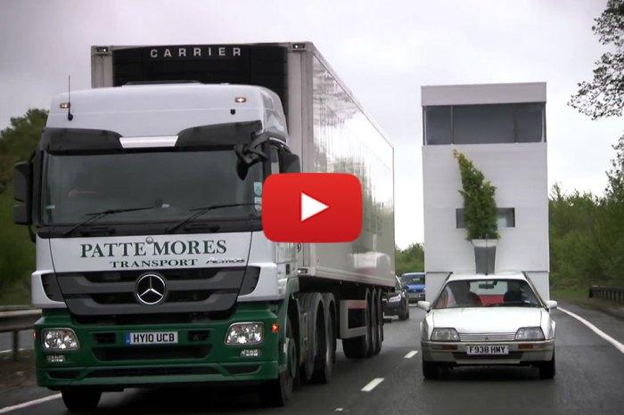 Hilarious Top Gear Moment, Campervan Challenge