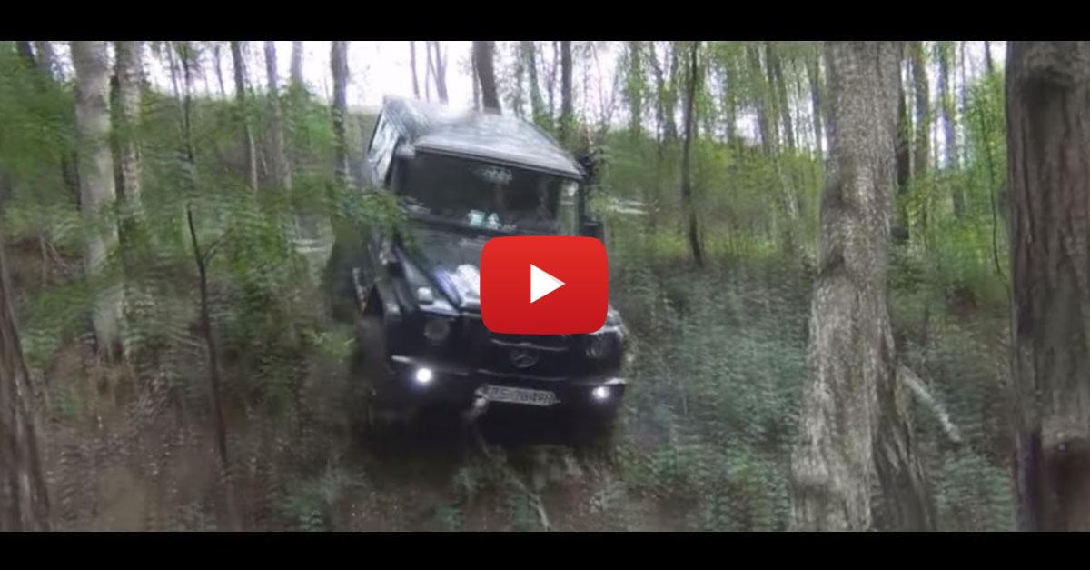 The Many, Many Crashes of the G-Wagon