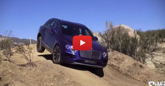 Serious Offroading In Bentley's New Bentayga
