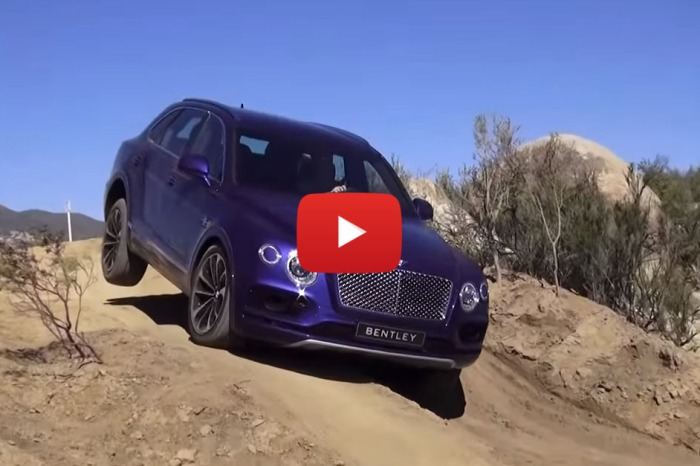 Serious Offroading In Bentley's New Bentayga