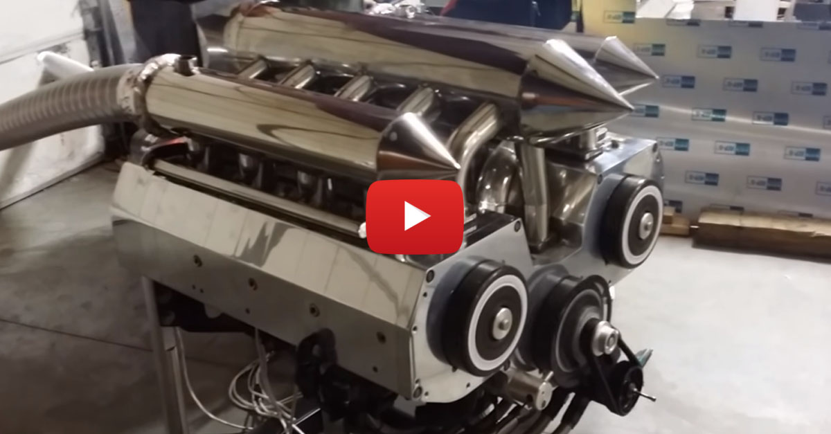 This 12-Rotor Wankel Engine Will Blow You Away