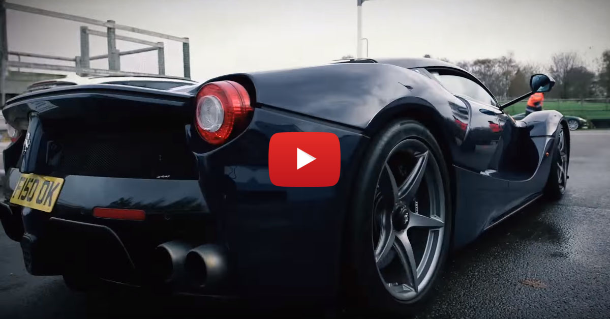 Pink Floyd's Nick Mason Has a Sick LaFerrari!