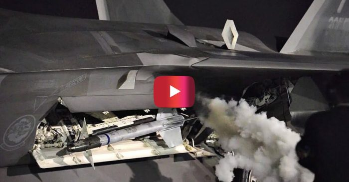 F-22 Raptor Engine Startup Will Have You Feeling Ready to Hit the Skies
