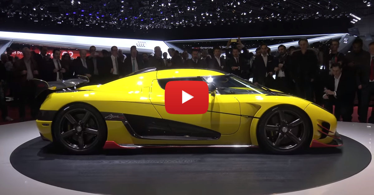 Koenigsegg Unmasks the Regera and Agera 1:1, RS