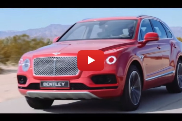 Bentley Builds The World's Fastest SUV