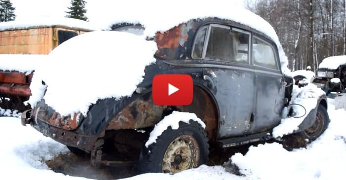 Starting Up A '37 Benz After More Than A Decade