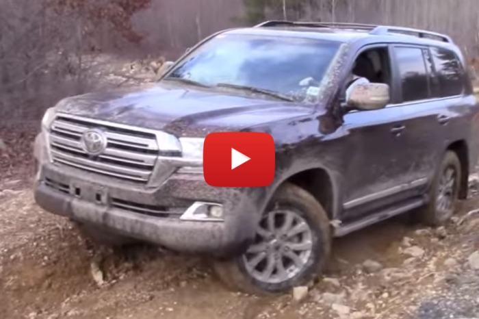 Taking an $85,000 Land Cruiser Off Road