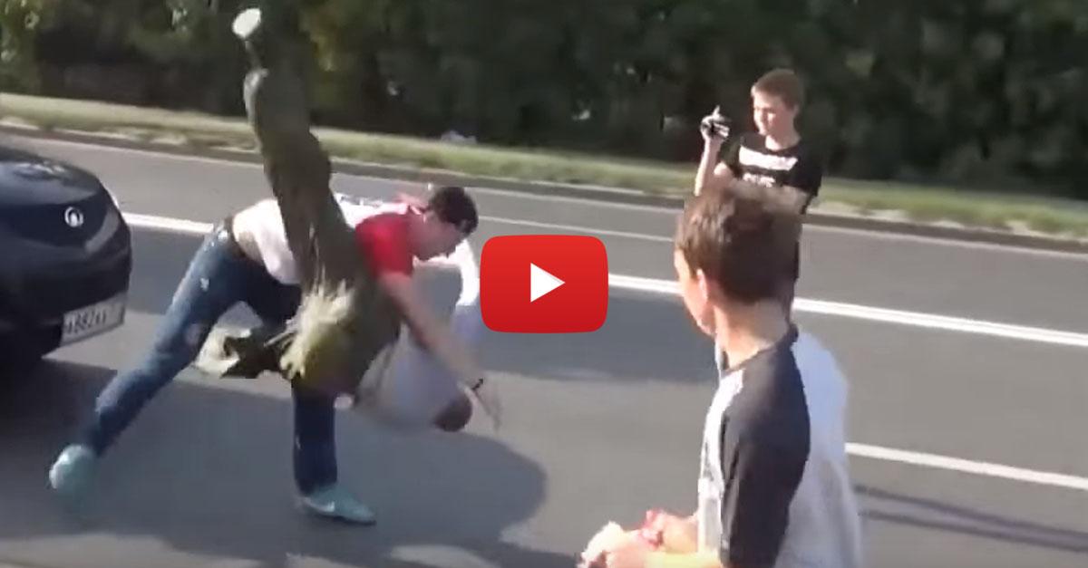 Stop a Douchebag – Bully vs. Wrestler