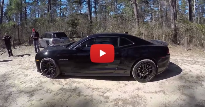 Tuned And Chopped Camaro ZL1 Drives Perfectly