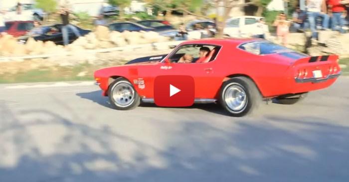 '73 Camaro With A 2JZ Swap Has Beautiful Revs