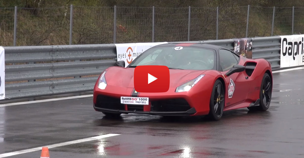Ferrari 488 GTB With Capristo Exhaust Is Pure Thunder