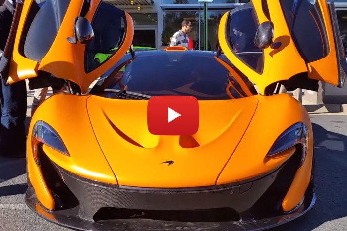McLaren P1 Is One Of The Sexiest Things On Four Wheels