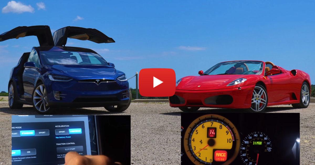 Tesla vs. Ferrari: Which Is Faster?
