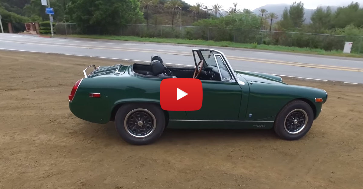 Test-Driving A Relic: 1973 MG Midget MKIII