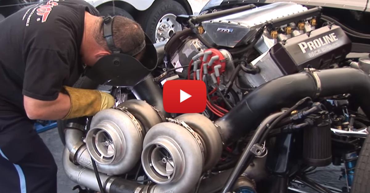 Cadillac And Corvette Have A 3000 HP Showdown