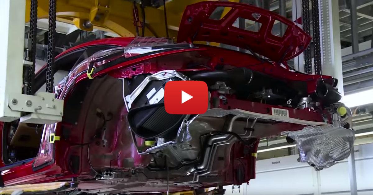 Building a Porsche in 120 Seconds
