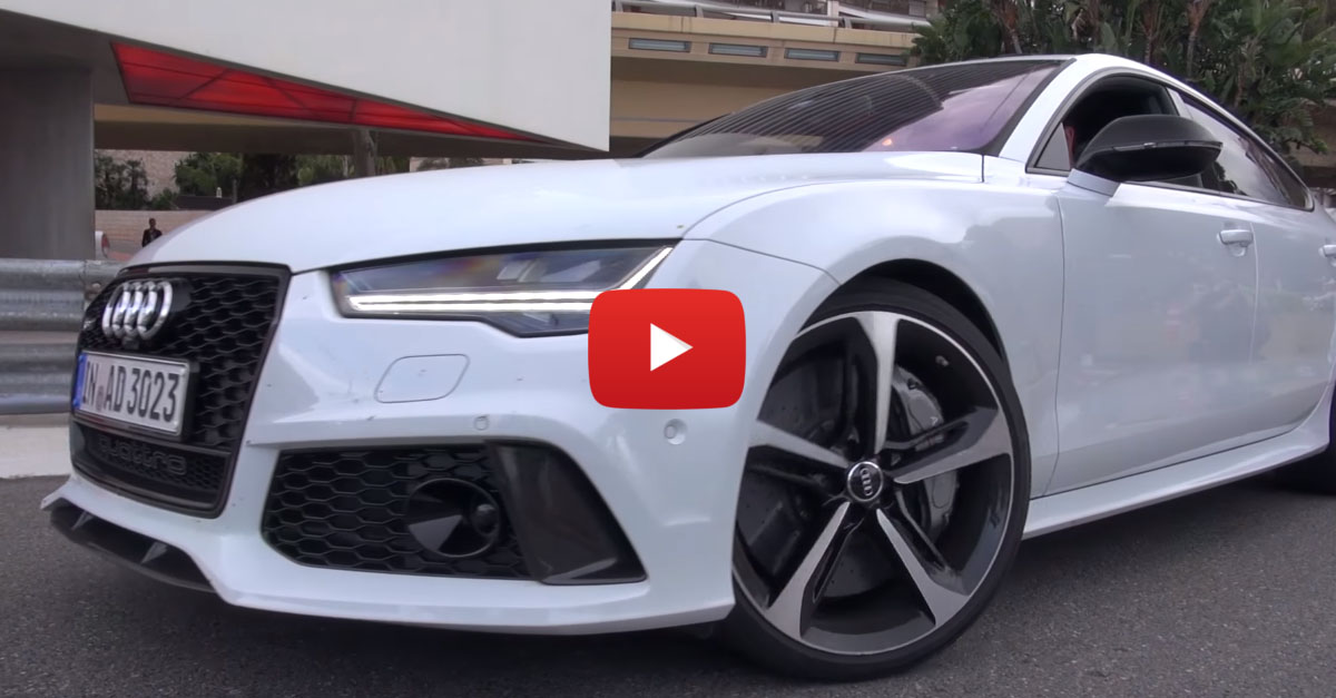 Thunder From Audi RS7 Would Make Thor Blush