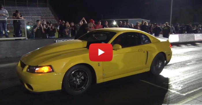 """The """"Nanner"""" Is A Butt Ugly Mustang That's Fast As Hell"""