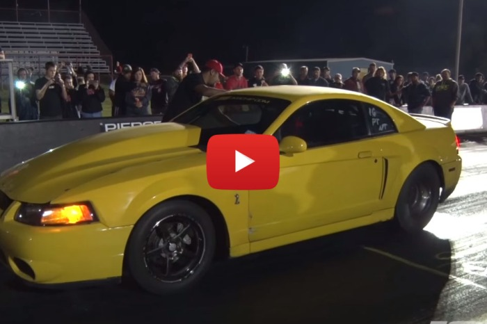 "The ""Nanner"" Is A Butt Ugly Mustang That's Fast As Hell"