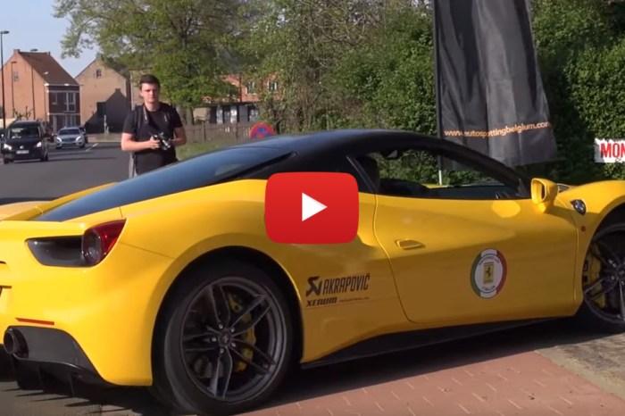 Ferrari 488 GTB With Custom Exhaust Positively Screams