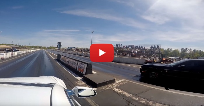 Tesla Model S Embarrasses A Bunch Of Hellcat Drivers