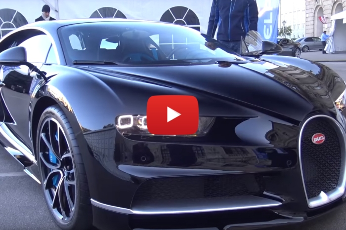 The New Bugatti Chiron's 1,480 HP Engine is What Your Day Needs