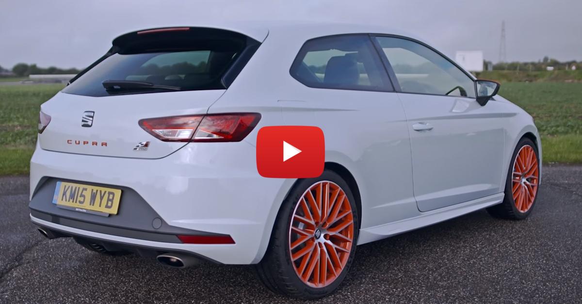 Seat Leon Cupra Sub 8 Is An Unassuming, Track-Perfect Hatch