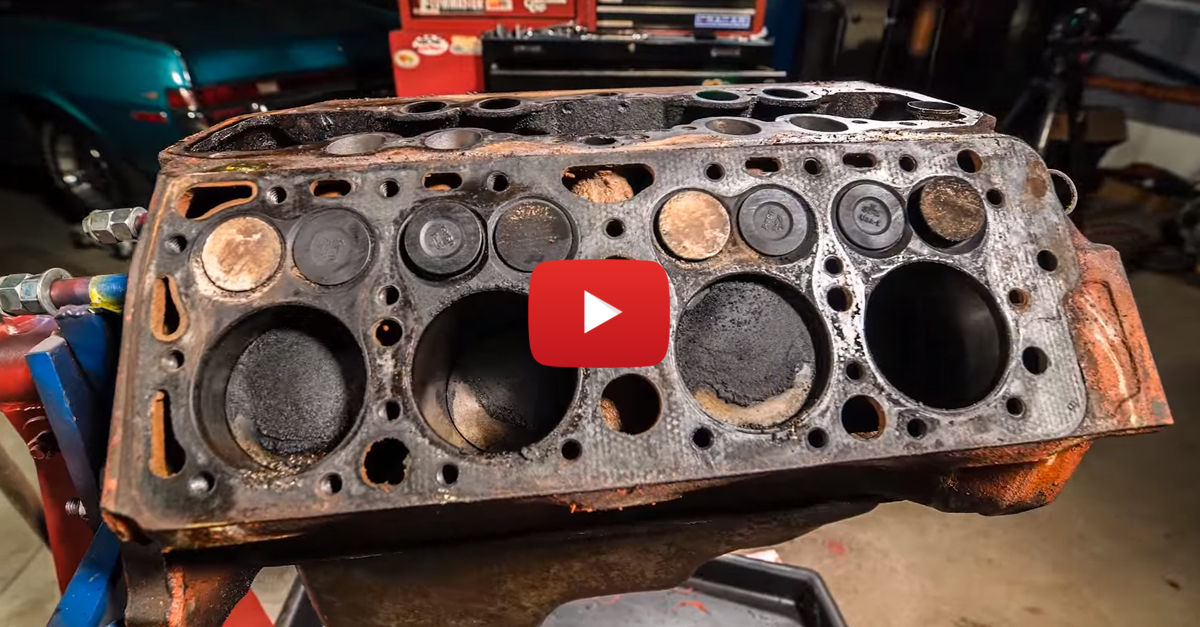 Time Lapse Video of a Ford Flathead Being Rebuilt is Mesmerizing