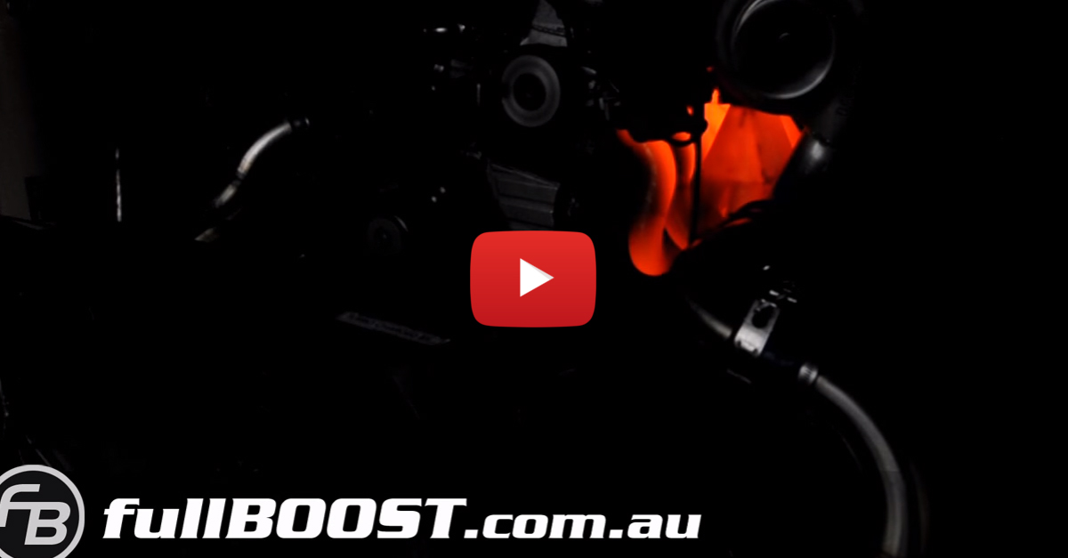 Watch This Boosted 1200 HP Engine Glow Red At Max RPMs